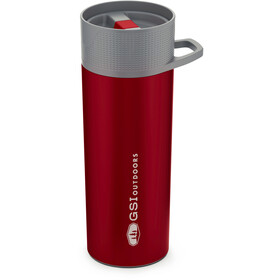 GSI Glacier Stainless Commuter Java Press red